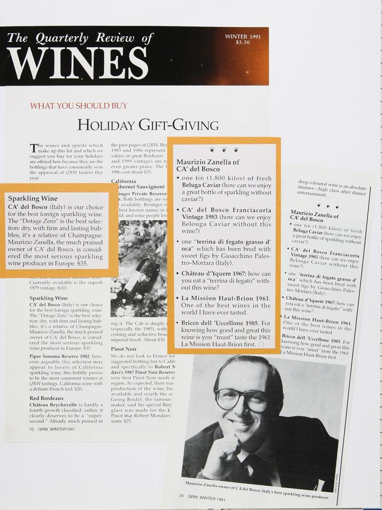 The quarterly review of wines 19911101
