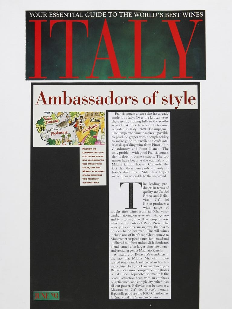 Italia your essential guide to the worlds best wines 19930701