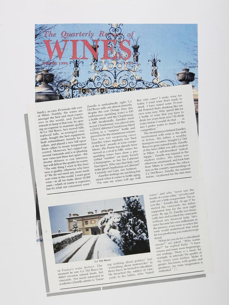 The Quarterly review of Wines 19901201
