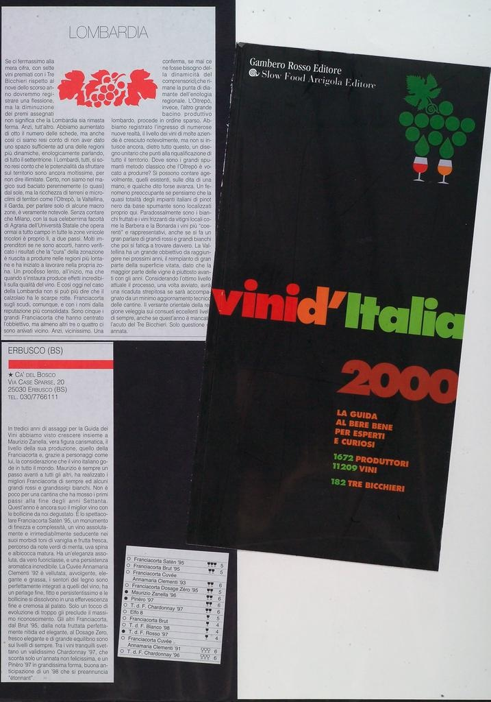 Gambero Rosso Slow Food Editore 20000101