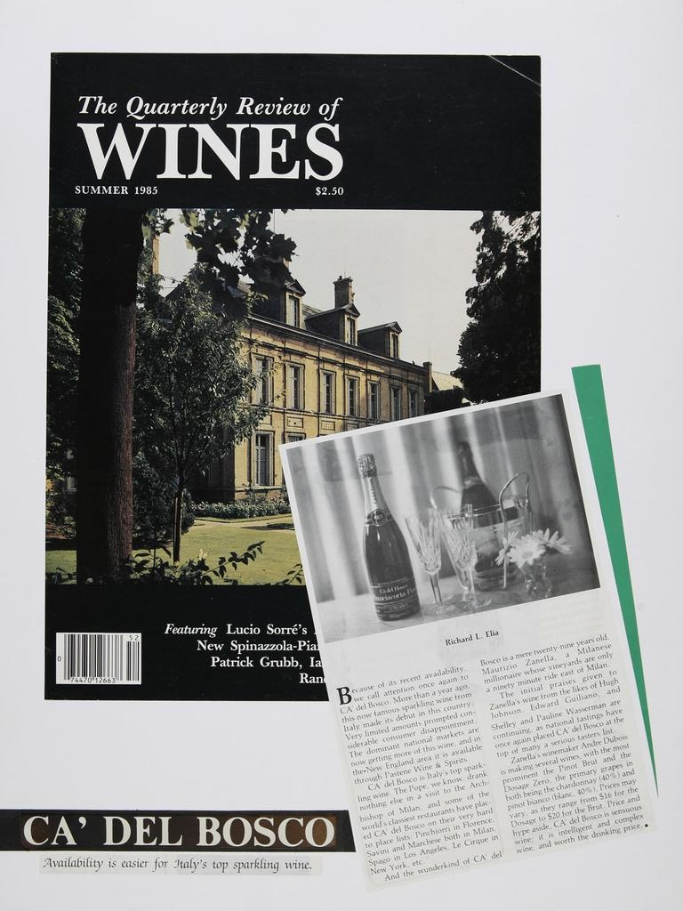 The Quarterly Review of Wines 19850801
