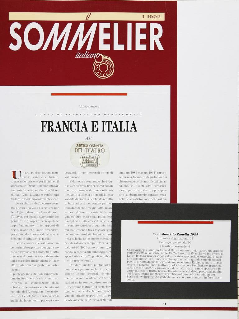 Il Sommelier Italiano 19920101